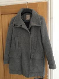 Zara Grey Coat Size M