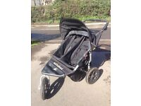 Out and About Nipper 360 V3 Double Buggy with Raincover