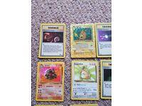 Collection of orginal pokemon cards