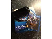 Ps vita slim with 1 game playstation