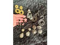 Beautiful vintage earrings, for pierced ears, £3-4