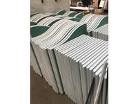 Floor Partitions - Green x 30 (Job Lot)
