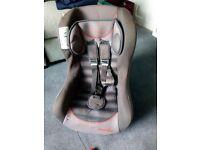 Free car seat 0-18kg