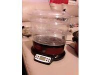 3 tier steamer and slow cooker
