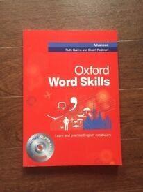 Oxford word skills book-Advanced learn English vocabulary