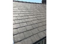 Just over 300 24x14 reclaimed welsh slate. Good condition