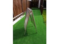 Sign Stand - Advertise your business - Aluminium Stand