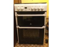 Indesit Double Gas Oven
