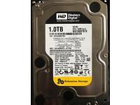 Western Digital internal 1.0TB SATA HD