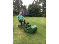 Vintage Ride On Lawn Mower