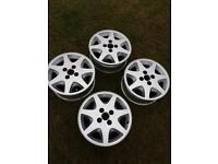 MK4 Escort XR3I Ford Motorsport Alloy Wheels /15inch Ronal Set