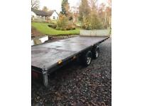 Ifor Williams Flat Bed Trailer. SOLD