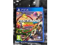 Play Station 4 PS4 Trackmania Game
