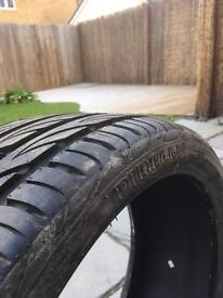 Pirelli Tyres Unused 245/30 20