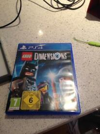 PS4 LEGO dimensions starter pack and extras.