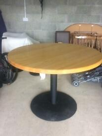 SOLID MAPLE BAR TABLE