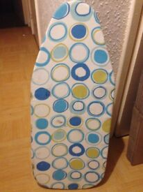 Small ironing board, built in stand - Shepherds Bush - COLLECTION ONLY