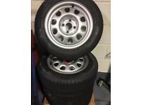 Volkswagen Golf Steel Wheels and Tyres