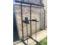 Pull up bar home fitness unit