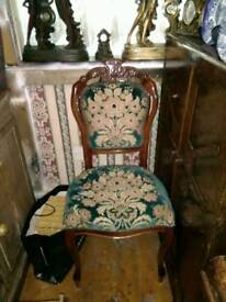 ANTIQUE STYLE ITALIAN CHAIR