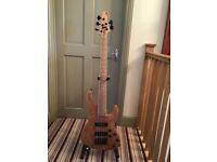 Bernie Goodfellow 5string bass