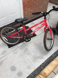 Girls mountain bike 20 inch wheel