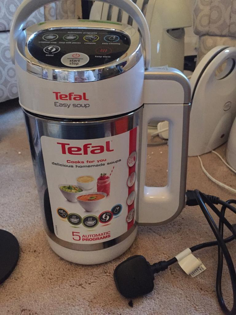 Tefal soup maker electric