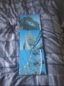 Job lot of New York canvases