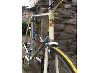 Classic vintage road bike Reynolds 531