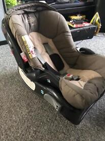 Greco first car seat with base