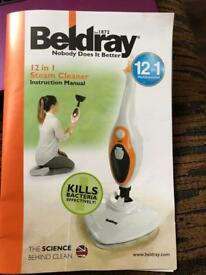 Beldray 12 in 1 Steam cleaner