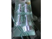 Fondant icing cutters/plungers