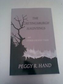 XMAS PRESSIE? Don't look behind you when reading THE CRETINGSBURGH HAUNTINGS and other GHOSTLY TALES