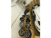 BMW AUDI MERCEDES VW BRAND NEW ALLOYS m3 m4 M5 m6 c63 a45