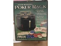 2 sets of poker chips
