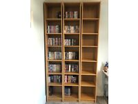 3 x Ikea Billy Bookcases