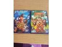 Disney brother bear 1&2 dvds