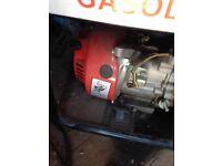 gasoline 3000 generator vgc 240/110 volts
