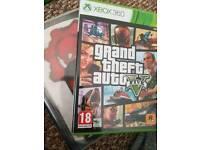 Gta v & gears of war 3 Xbox 360