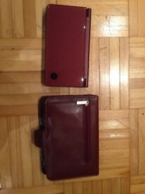 Nintendo DSi XL WineRed NDSi XL Handheld Console