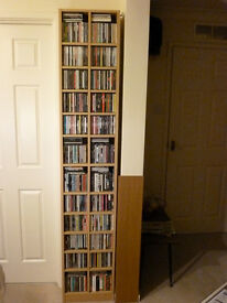 Oak effect double CD tower, never used