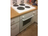 Ignis Fitted Fan Oven & Ariston 4 plate hob. All in good working order