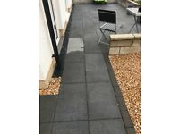 Grey slab with silver fleck