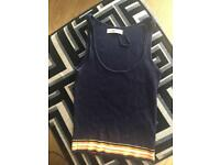 Zara basic knit crop top