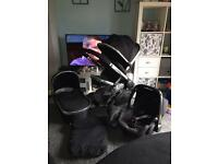 Icandy I candy peach black magic Pram pushchair