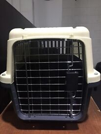 Large Pet Travel Carry Crate - suitable for puppy or large cat