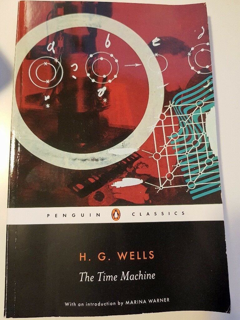 The Time Machine - H. G. Wells - Great book - 3.9 Good Reads Rating!!