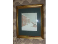 Washington; County Durham framed original landscape watercolour painting