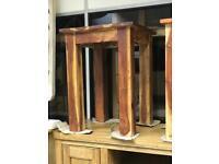 Mango wood lamp table