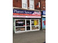 Busy Takeaway for sale, Stretford area. Prime Location near MUFC